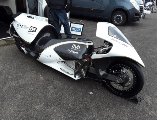 STEAM ROCKET BIKE TO APPEAR AT STAFFORD