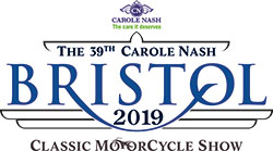 The Bristol Classic MotorCycle Show Logo