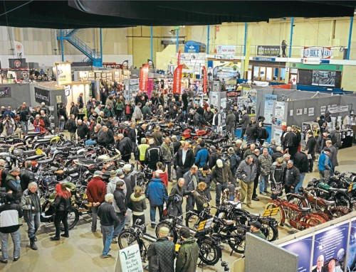 THE COUNTDOWN IS ON FOR THE BRISTOL CLASSIC BIKE SHOW