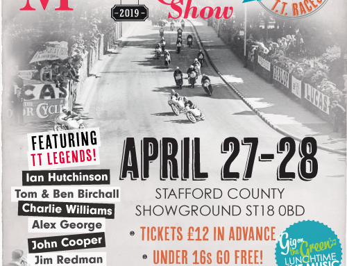 WORLD'S BIGGEST CLASSIC MOTORCYCLE SHOW TO CELEBRATE 100 OFFICIAL YEARS OF TT RACING