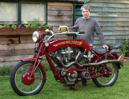 THE MADNESS OF MILLYARD: AMAZING BIKE CREATIONS TO DISPLAY AT STAFFORD